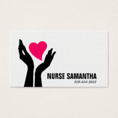 Nursing Home Care Business Card at Zazzle