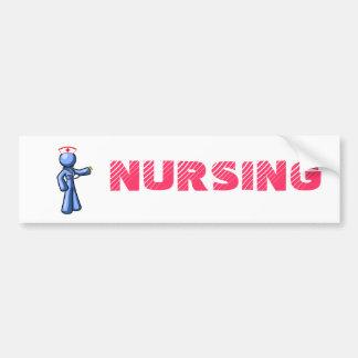 Nursing Icon Animation Bumper Sticker