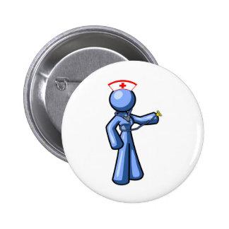 Nursing Icon Animation 2 Inch Round Button