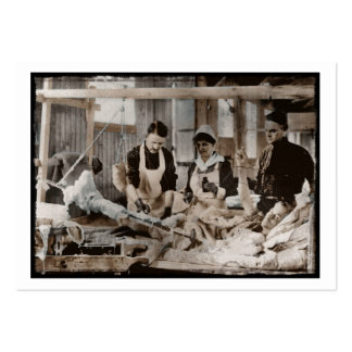 Nursing in a Bombed Building Large Business Card