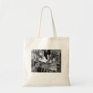 Nursing In Bombed Building WWII Tote Bag
