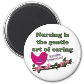 Nursing Instructor 2 Inch Round Magnet