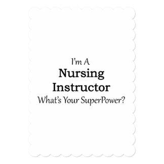 Nursing Instructor Card