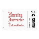 Nursing Instructor - Extraordinaire Postage Stamp