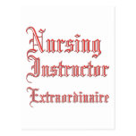 Nursing Instructor - Extraordinaire Postcard