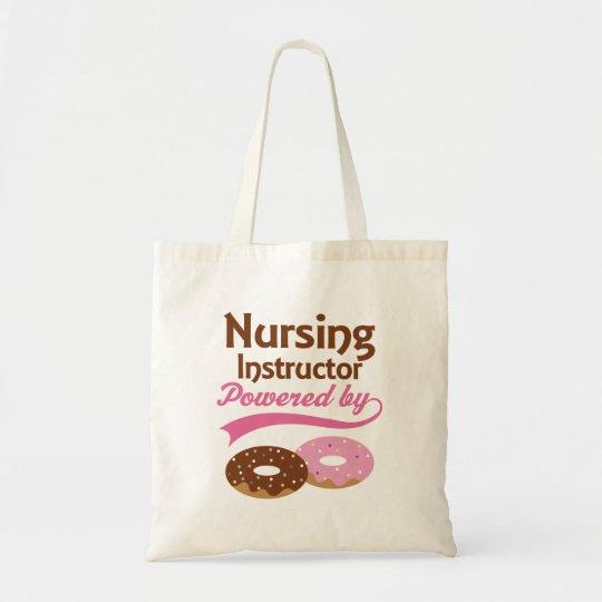 Nursing Instructor Funny Gift Tote Bag