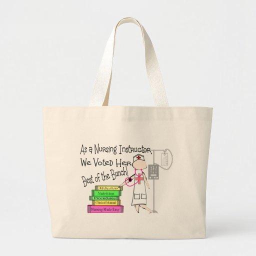 NURSING INSTRUCTOR Gifts Jumbo Tote Bag