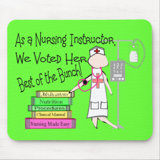 NURSING INSTRUCTOR Gifts Mouse Pad