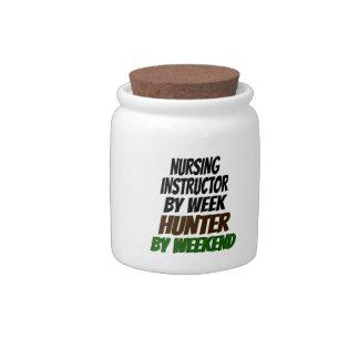 Nursing Instructor Hunter Candy Jars
