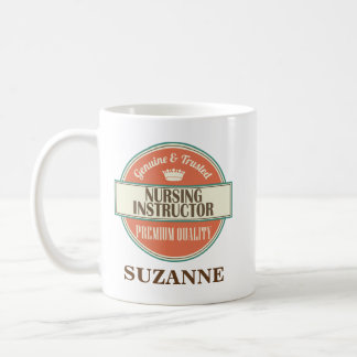 Nursing Instructor Personalized Office Mug Gift
