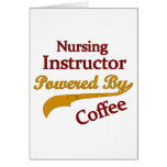 Nursing Instructor Powered By Coffee Card