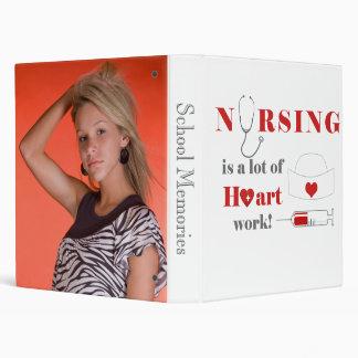 Nursing is a lot of heartwork binder