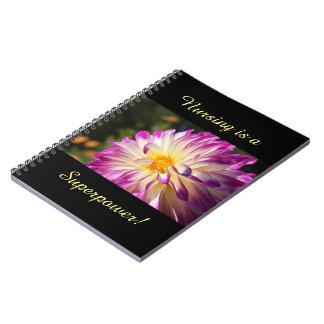 Nursing is a Superpower! notebooks Nurses custom