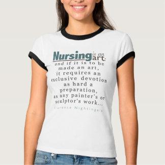 Nursing is an Art Shirt