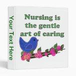 Nursing Is Caring Binder