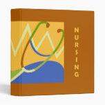 Nursing Is Caring Binder - Red