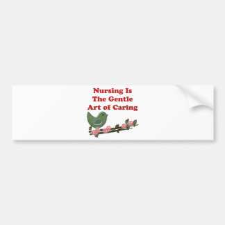 Nursing Is Caring Bumper Sticker
