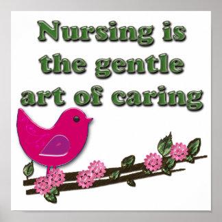 Nursing Is Caring Print