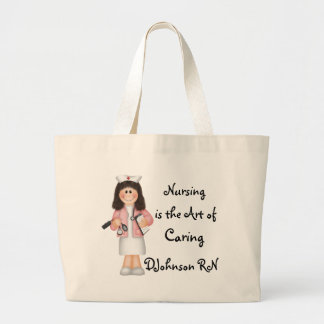 Nursing is the Art of Caring Bag