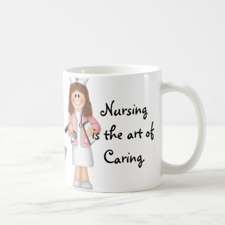 Nursing is the art of Caring Mugs