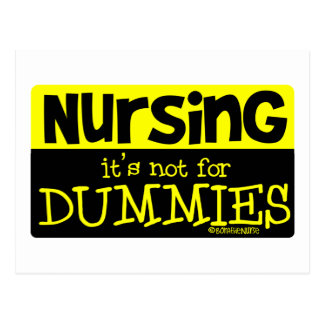 Nursing - Its NOT for Dummies! Postcard