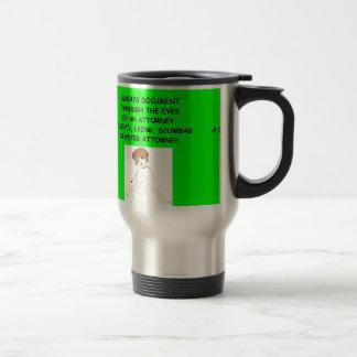 nursing joke 15 oz stainless steel travel mug