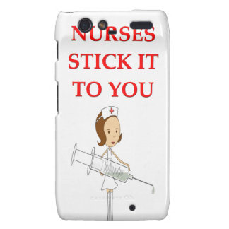 nursing joke droid RAZR cover