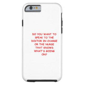 nursing joke tough iPhone 6 case