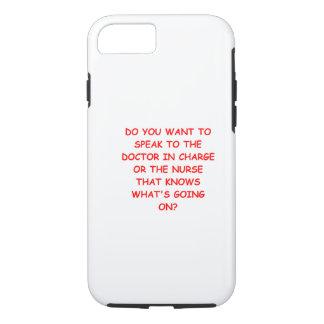 nursing joke iPhone 7 case