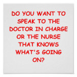 nursing joke posters