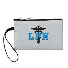 Nursing LPN Medical Symbol Coin Purse