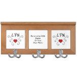 Nursing LPN Nurse Love Coat Rack