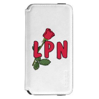 Nursing LPN Rose iPhone 6/6s Wallet Case