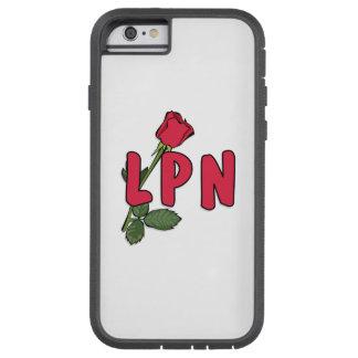 Nursing LPN Rose Tough Xtreme iPhone 6 Case