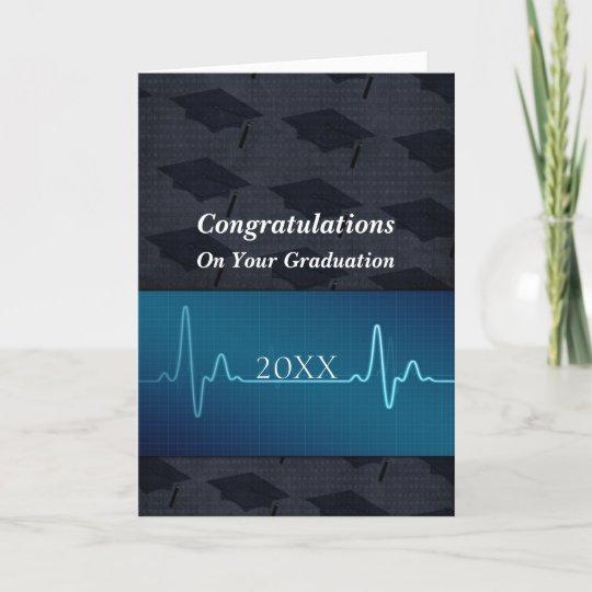 nursing or medical or doctor graduation card zazzle com