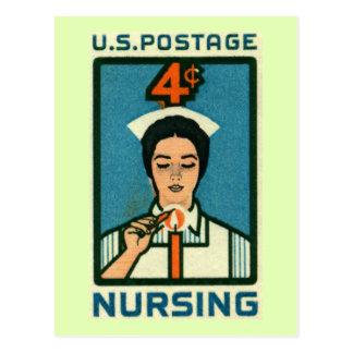 Nursing Profession Vintage Postcard