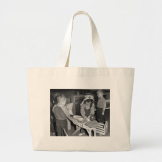 Nursing School: 1940s Large Tote Bag