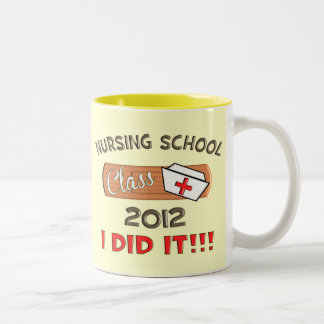 Nursing School 2012 Graduation Two-Tone Coffee Mug