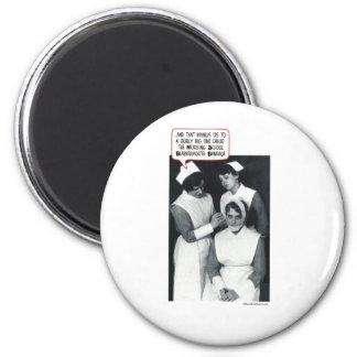 Nursing School Blabbermouth Bandage Magnet