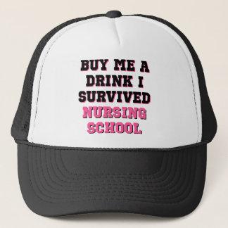 Nursing School Buy Me A Drink Trucker Hat