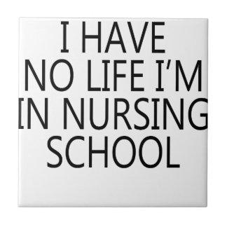 nursing school ceramic tile