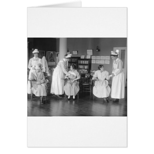 Nursing School, early 1900s Card