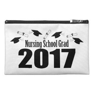Nursing School Grad 2017 Caps And Diplomas (Black) Travel Accessory Bag