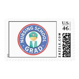 Nursing School Grad Postage