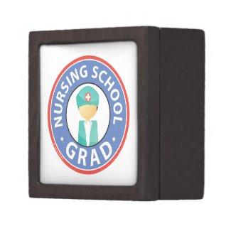 Nursing School Grad Trinket Box