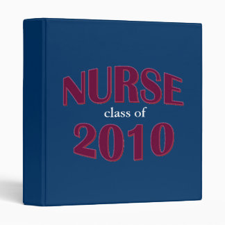 Nursing School Graduate Binder - Class of 2010