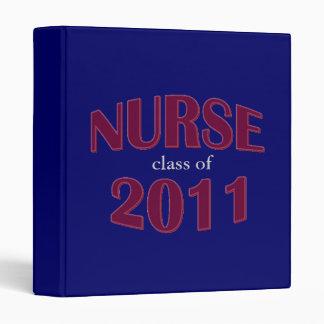 Nursing School Graduate Binder - Class of 2011