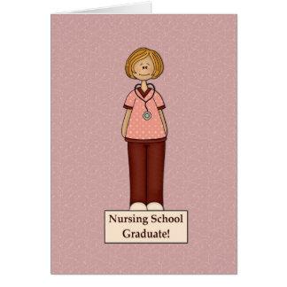Nursing School Graduate Card