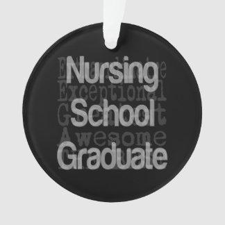 Nursing School Graduate Extraordinaire Ornament