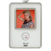 Nursing School Graduate Gear Ornament